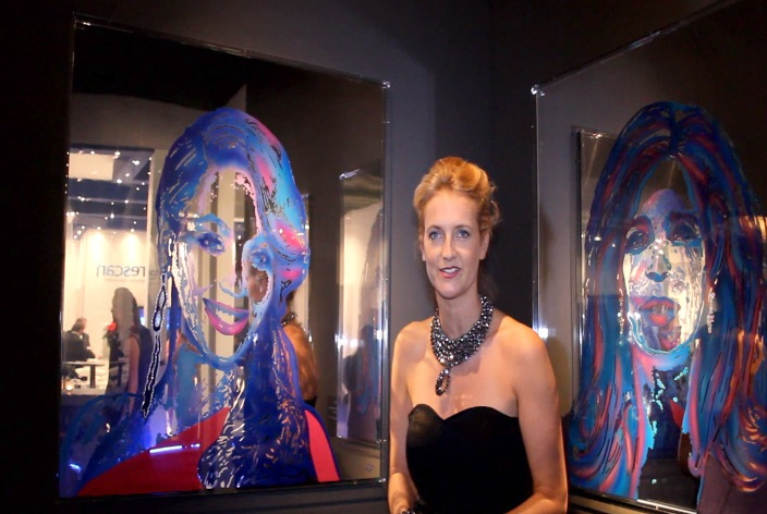 Art Launched At The Masters Of LXRY -Carola Pavlik
